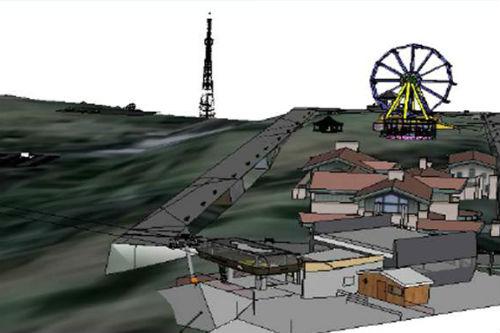 На вершине Тугаи планируют построить развлекательный комплекс