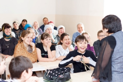 Слушателям Воскресной школы рассказали о культуре и обычаях алтайского народа