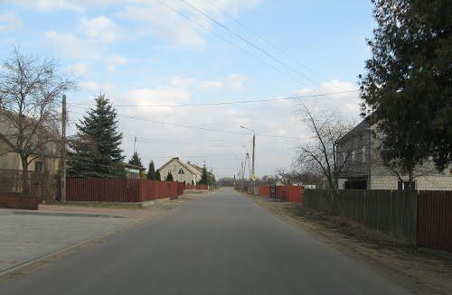 Польская деревня Дрогошево, где похоронен Ф. Ермолаев. Фото Panoramio.com