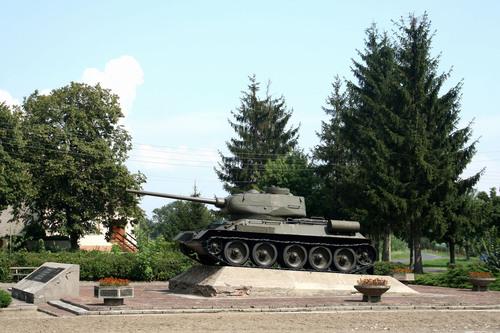 Мемориал советским воинам в городке Киниц. Фото Panoramio.com
