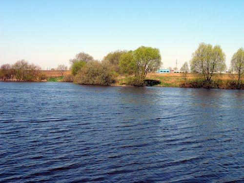 Река Проня около города Горки. Фото Panoramio.com