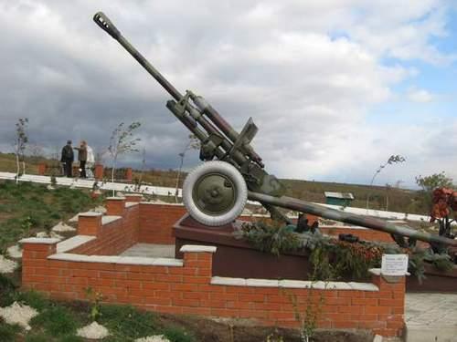 Мемориал в селе Чапаевка. Фото Panoramio.com