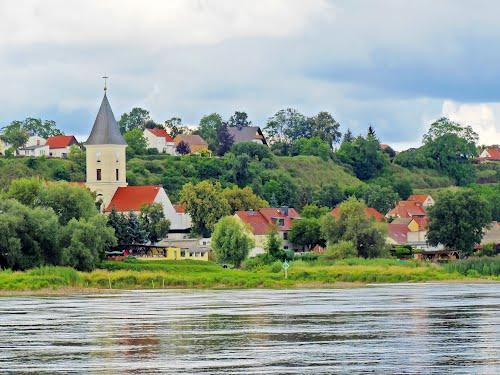 Немецкий городок Лебус, где геройствовал Вениамин Чевалков. Фото Panoramio.com