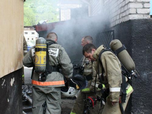 Через 14 минут после прибытия пожарных очаг возгорания был найден и локализован