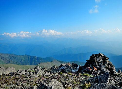 Безымянную вершину на Алтае назвали именем Евгения Маточкина. Фото с сайта roerich.spb.ru