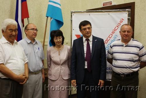 Борис Алушкин, Евгений Танзыков, Наталья Екеева, Азат Газизов, Александр Вилисов