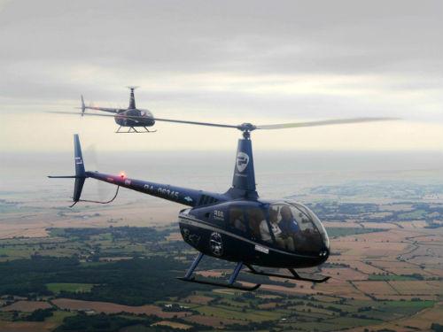 В Горном Алтае побывали участники первой кругосветной экспедиции на легких вертолетах