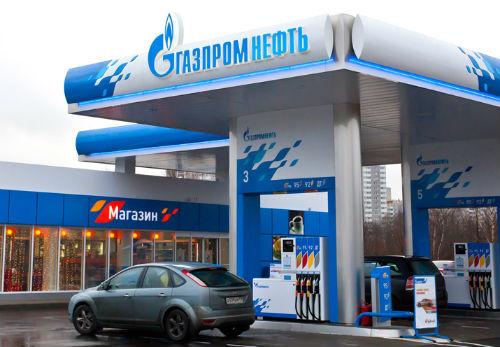 Настоящие заправки «Газпромнефти» выглядят так