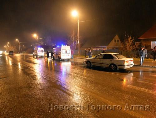 ДТП в районе Трактовой