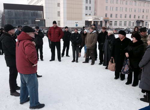 В Горно-Алтайске прошел митинг протеста