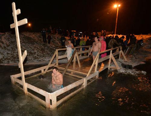 Крещенские купания прошли без происшествий