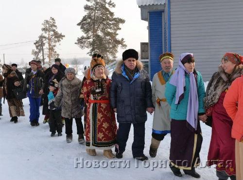 Александр Бердников отпраздновал Чага Байрам с жителями Тондошки