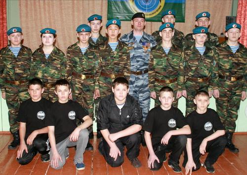 Курсанты чергинского военно-патриотического клуба «Разведчик» приняли присягу