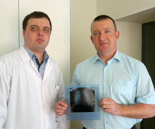 Глава Майминского района Евгений Понпа прошел флюорографию