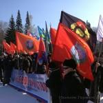 В Горно-Алтайске прошел митинг солидарности с народом Украины (фото и видео)