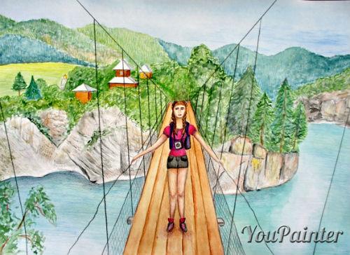 Рисунок острова Патмос победил в конкурсе «Россия туристическая глазами детей»