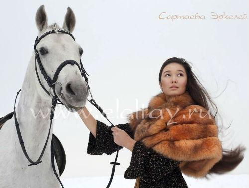 «Принцессой Алтая» стала Эркелей Сартаева