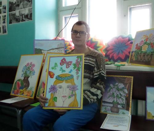 В психбольнице состоялась выставка, посвященная 8 марта