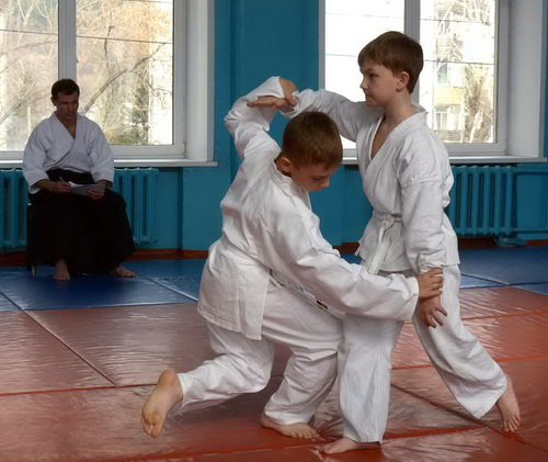 В Горно-Алтайске впервые прошло первенство по айкидо среди детей