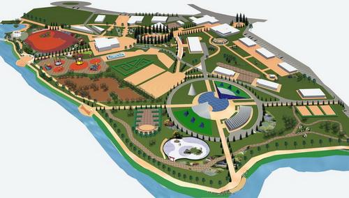 Проект реконструкции городского парка