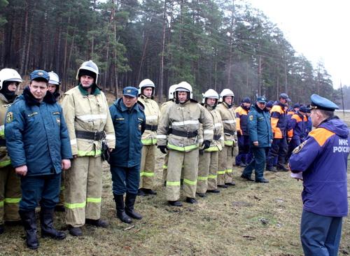 Учения спасателей на Алтае