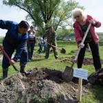 Министр образования Наталья Гусельникова вопреки слухам об отставке продолжает трудиться в составе кабмина. Даже деревья сажает