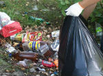 25 тонн мусора вывезли с улиц и берегов рек Горно-Алтайска