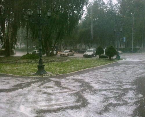 Град в Горно-Алтайске. Фото Елена Козлова, facebook.com