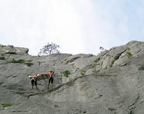 Операция по спасению скалолазки