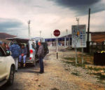 В 2014 году госграницу в Ташанте пересекли 50 тыс. человек