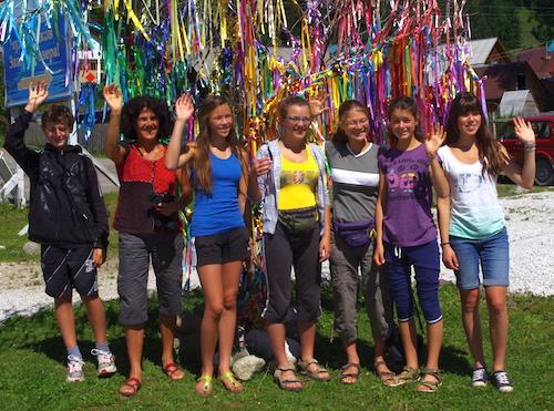 Французские школьники, победившие в экологическом конкурсе, прибыли в Горный Алтай