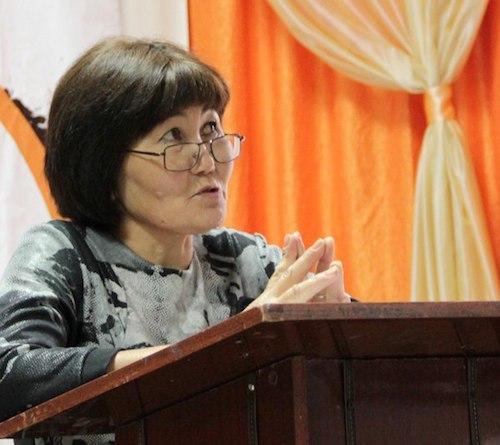 Лариса Енчинова: Как только ее выкопали, начались землетрясения, и трясет все сильнее