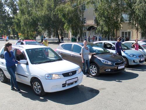 В Горно-Алтайске прошел конкурс «АвтоЛеди»