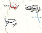 Рядом с Горно-Алтайском произошло землетрясение