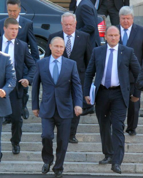 Владимир Путин в Горно-Алтайске. Фото: Наталья Сладкова