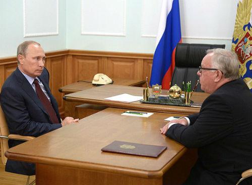 Владимир Путин пожелал Бердникову успехов на выборах