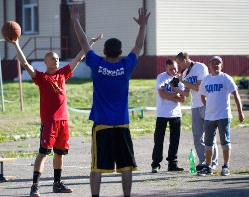 Турнир по баскетболу между политическими партиями
