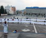 Участники митинга в Горно-Алтайске передали Министру культуры Алтая обращение к президенту России о необходимости захоронения мумии алтайской принцессы