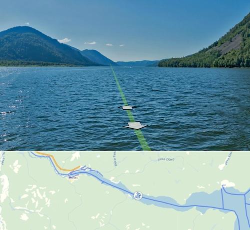 Не выходя из дома с помощью «Яндекс.Карт» можно «прогуляться» по Телецкому озеру…