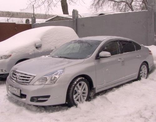 Полицейские обнаружили машину у бывших владельцев