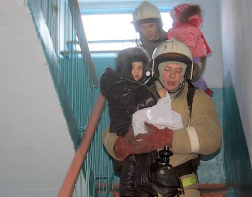 Эвакуировать пришлось 29 человек, в том числе детей
