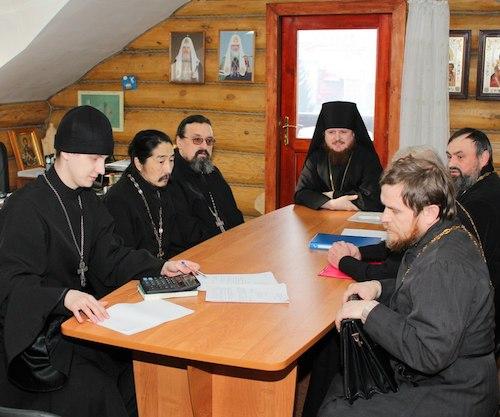 В Горно-Алтайске прошло заседание епархиального совета