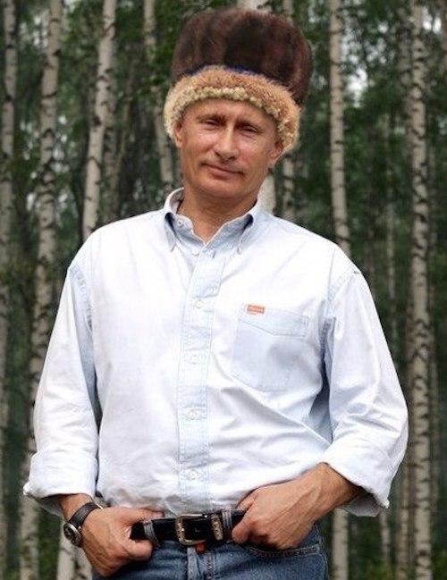 С помощью фотошопа Владимир Путин принял эстафету «Селфи #АЛТАЙБОРУК». Фото vk.com/altay_sooktor
