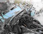 Около Турочака самосвал наехал на «уазик», один человек погиб