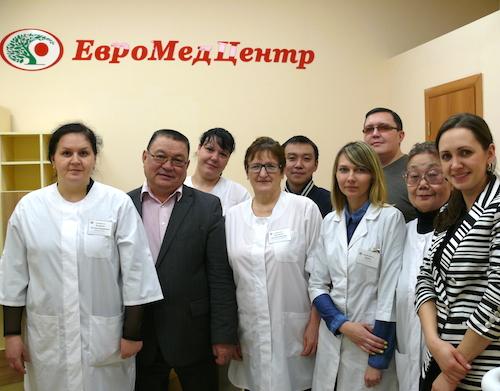 Сотрудники клиники «ЕвроМедЦентр»