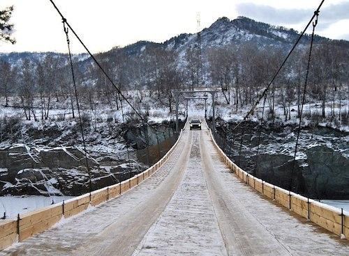 Новый мост обошелся бизнесмену в 21 млн рублей