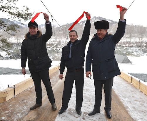 Открытие нового моста