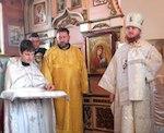 В Горно-Алтайске епископ освятил Покровскую церковь