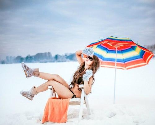 Белые пляжи Сибири. Фото: ВКонтакте