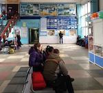 Автовокзал отменяет больше 20 рейсов из-за морозов